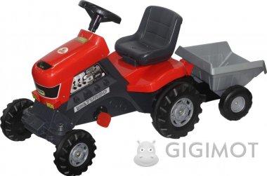 Каталка трактор Coloma Y Pastor-Polesie «Турбо» з педалями і напівпричепом, 52681