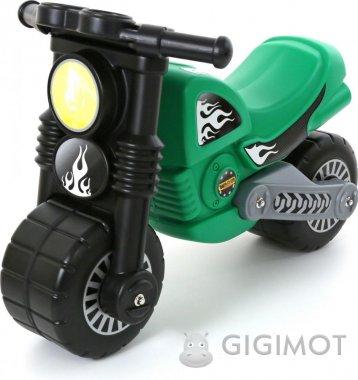 Каталка мотоцикл Wader (Полісся) «Моторбайк» зелений, 40480