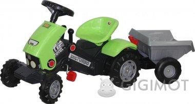 Каталка трактор Coloma Y Pastor-Polesie «Turbo-2» з педалями і напівпричепом, 52742