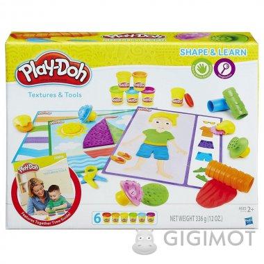 Ігровий набір Play-Doh «Текстура та інструменти», B3408