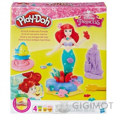 Ігровий набір Play-Doh «Аріель і друзі», B5529