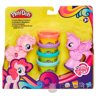 Ігровий набір Play-Doh «Поні: Знаки Відмінності», B0010
