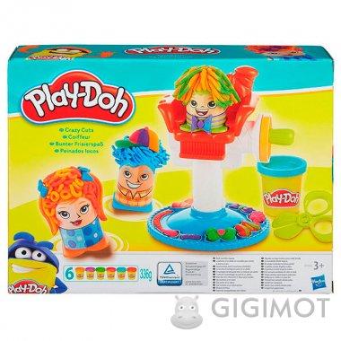 Ігровий набір Play-Doh «Божевільні зачіски», B1155