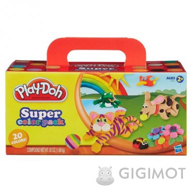 Набір Play-Doh з 20 баночок, A7924