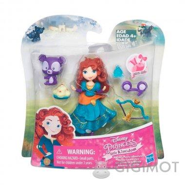 Ігровий набір Disney Princess «Міні-лялька і її друг» в асорт., B5331
