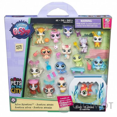 Набір звіряток-малюків Littlest Pet Shop в асорт., B6625