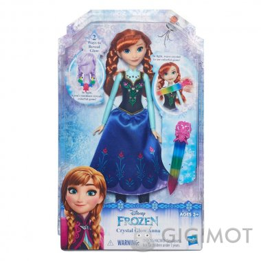 Лялька Frozen «Холодне Серце з сяючим вбранням» в асорт., B6162