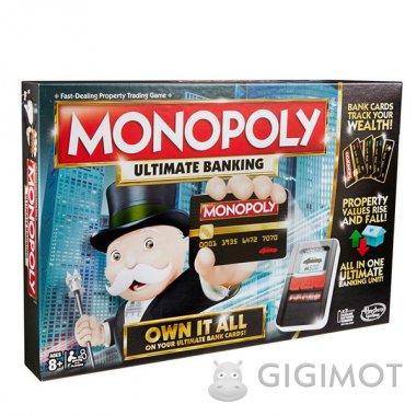 Гра настільна «Монополія з банківськими картами» оновлена, B6677