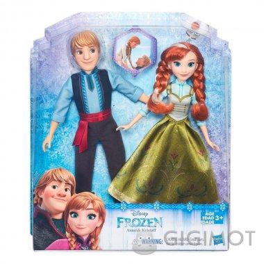 Набір ляльок Frozen «Анна і Крістофф», B5168