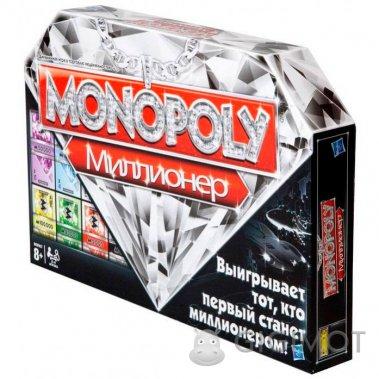 Гра настільна «Монополія Мільйонер» російськомовна, 98838121