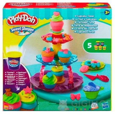 Ігровий набір Play-Doh «Вежа з кексів», A5144