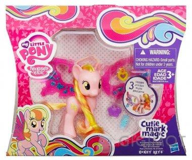 Поні My Little Pony «Делюкс» з чарівними крилами в асорт., B0358