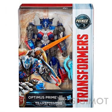 Трансформери «Трансформери 5: Вояджер Optimus Prime», C0891/C1334EU40