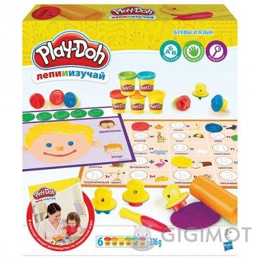 Ігровий набір Play-Doh «Букви і мови», C3581