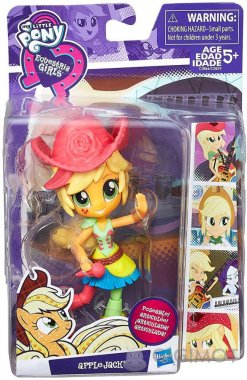 Міні-лялька My Little Pony «EG Rockin Applejack», C0839/C0866EU40
